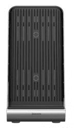 Baseus Vertikálna bezdrôtová Qi nabíjačka, čierna