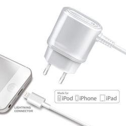 CELLY cestovná nabíjačka s konektorom Apple Ligtning, 1A, blister
