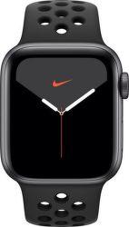 Apple Watch Series 5 Nike 44mm čierny hliník s antracitovým/čiernym športovým náramkom