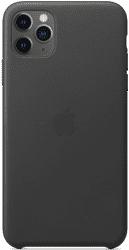 Apple kožený kryt pre iPhone 11 Pro Max, čierny