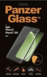 PanzerGlass Premium tvrdené sklo pre Apple iPhone 11/Xr, čierna