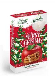 Sweet Home Veselé Vianoce 6ks čajové sviečky