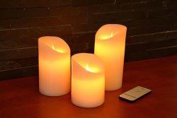 Crown XCANDL 3 ks LED sviečka + ovládač