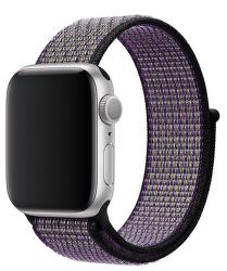 Apple Watch 40 mm Nike športový prevliekací remienok, pieskovo béžový/Volt