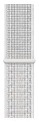 Apple Watch 40 mm Nike športový prevliekací remienok, snehovo biely