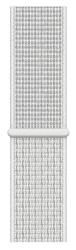 Apple Watch 44 mm Nike športový prevliekací remienok, snehovo biely