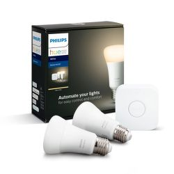 Philips Hue White 9W E27 malý starter kit