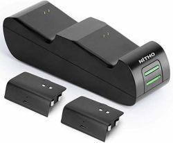 Nitho XB1-CST1-K nabíjacia stanica pre herné ovládače Xbox One