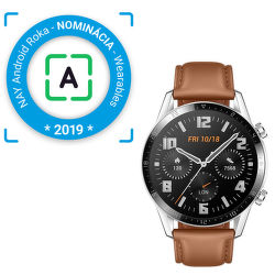 Huawei Watch GT 2 46 mm hnedé