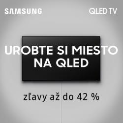 Akciová ponuka na QLED TV Samsung