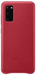 Samsung Leather Cover pre Samsung Galaxy S20, červená
