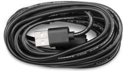 TrueCam kábel micro USB 3m, čierna