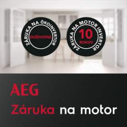 Predĺžená záruka na motor spotrebičov AEG
