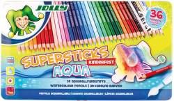 Jolly Supersticks Aqua 36 farbičiek