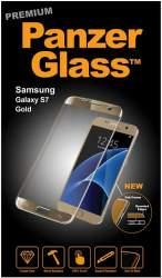 PanzerGlass Premium tvrdené sklo pre Samsung Galaxy S7, zlatá