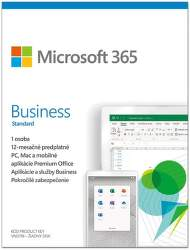 Microsoft 365 Business Standard SK (1 ROK, 1 UŽIVATEĽ, 1TB CLOUD)