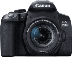 Canon EOS 850D + 18-55 mm f/4-5,6 IS STM