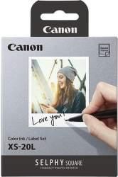 Canon XS-20L fotopapier pre Selphy Square QX10