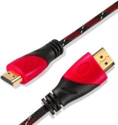 Ecolite HDMI-YWD-HD02-V2 HDMI kábel 1,5m čierno-červený