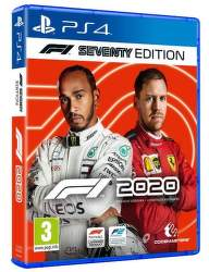 F1 2020 Seventy Edition PS4 hra