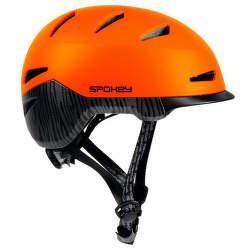 Spokey DOWNTOWN prilba 55-58 cm oranžová
