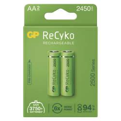 GP ReCyko HR06 (AA) 2450 mAh 2 ks