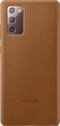 Samsung kožené puzdro pre Samsung Galaxy Note20, hnedá