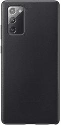 Samsung kožené puzdro pre Samsung Galaxy Note20, čierna