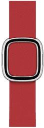 Apple Watch 40 mm remienok s magnetickou prackou šarlátový L