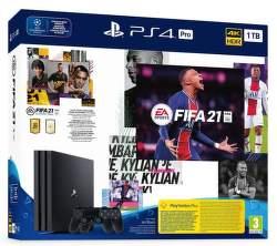 PlayStation 4 Pro 1TB Gamma Chassis + FIFA 21 + 2x DualShock 4