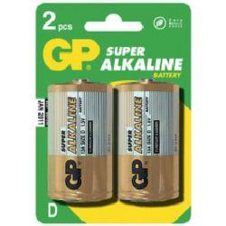 GP B1341 Super Alkaline D (LR20), 2ks