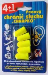 Interpharm Chrapko penový chránič sluchu (4 + 1ks)