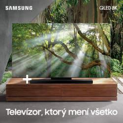 Soundbar v cene QLED 8K televízorov Samsung