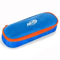 Easy NERF školské puzdro modro-oranžové