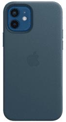 Apple kožený kryt pre Apple iPhone 12/12 Pro MagSafe modrá