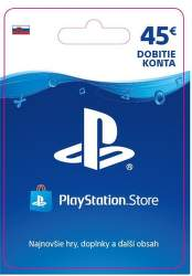 Sony PlayStation Store 45 eur - Digitální produkt