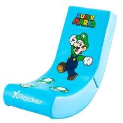 X Rocker - Nintendo Luigi modré