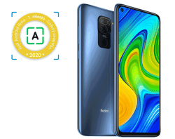 Xiaomi Redmi Note 9 64 GB sivý