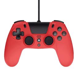 Gioteck VX4 Premium Wired Controller pre PS4/PC červený