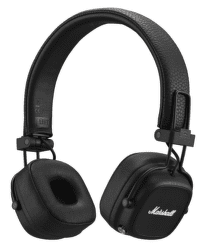 Marshall Major IV Bluetooth čierne
