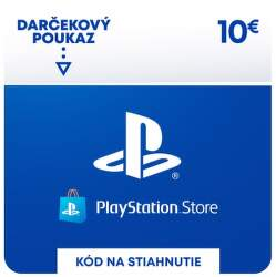 PlayStation Store 10 eur - Digitálny produkt