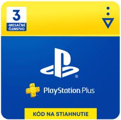 PlayStation Plus SK 3-mesačné členstvo - Digitálny produkt