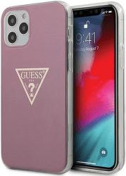 Guess puzdro pre Apple iPhone 12/12 Pro ružové
