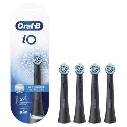 Oral-B iO Ultimate Clean Black náhradné hlavice 4 ks
