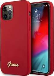 Guess puzdro pre Apple iPhone 12/12 Pro červená