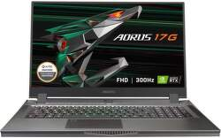 Gigabyte AORUS 17G YC-8EE6450SH čierny