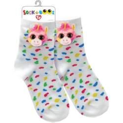 TY 95807 jednorožec FANTASIA detské ponožky