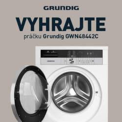Vyhrajte práčku Grundig