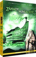DVD F - Záhady minulosti - 4 DVD digipack