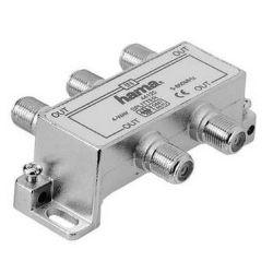 Hama 44125-  4-násobný rozdeľovač pre káblovú TV